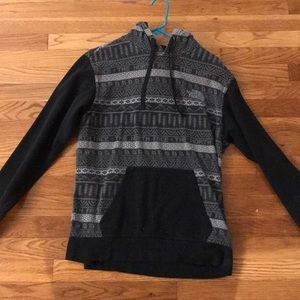 men's small north face sweatshirt
